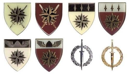 South African Special Forces badges and insignia