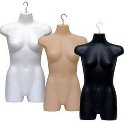 Hanging mannequin forms