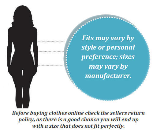 Ladies Clothing, Shoes and Accessories Sizing Guide