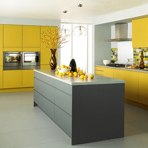 Yellow And Gray Kitchen: How To Improve Your Kitchen On A Budget