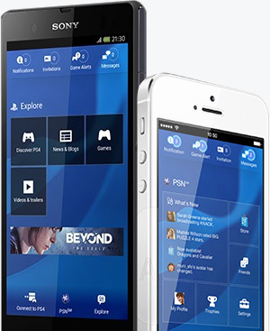 Playstation Smartphone Access
