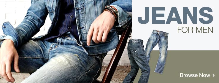 Men's Designer Jeans. Shop Now!