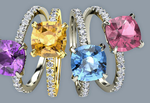 Coloured Gemstones