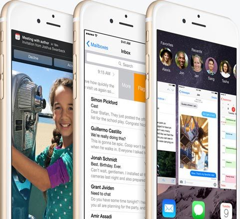 Endless possibilities within reach with iOS 8