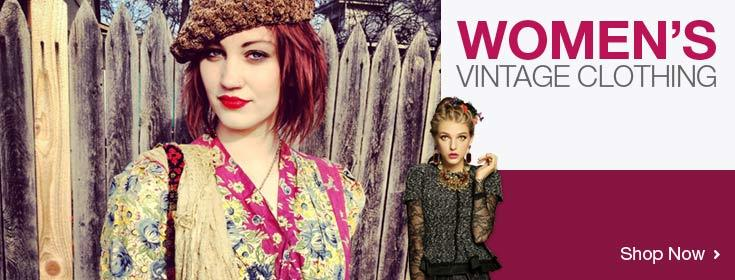 Shop Now for Women's Vintage Clothing