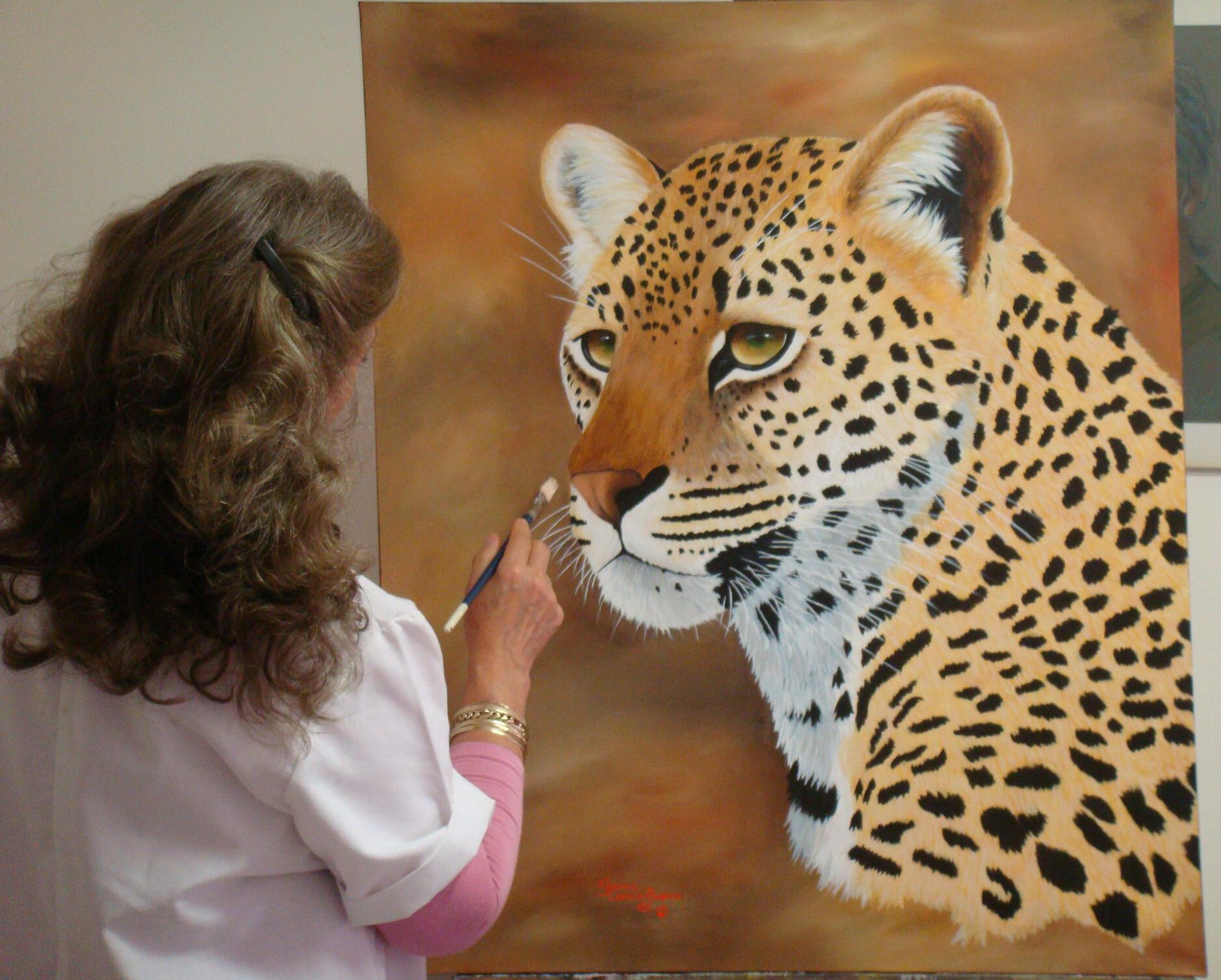 South African Artist Yvonne Carola-Pearce