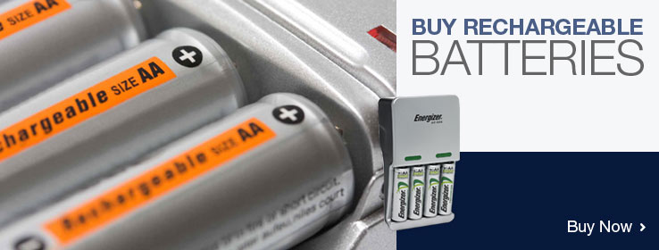 Buy rechargeable batteries online