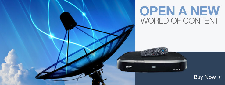 Your online satellite TV equipment shop